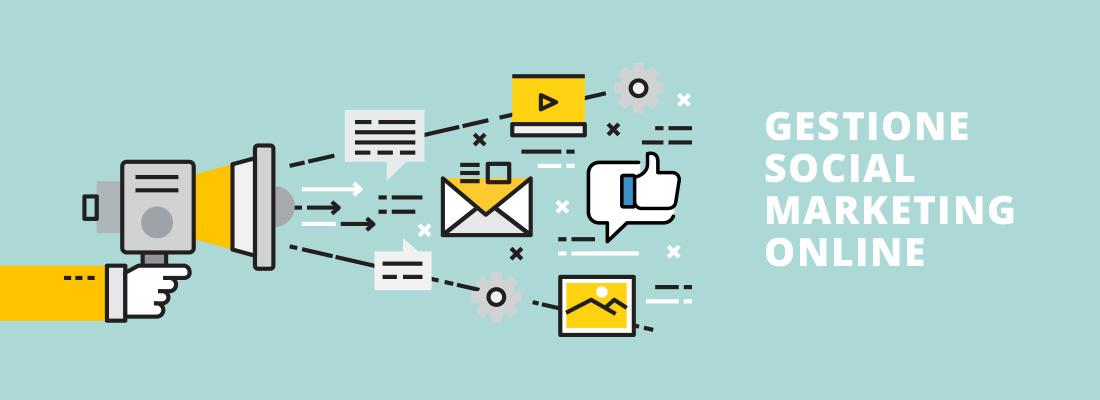 Gestione Social network - marketing online