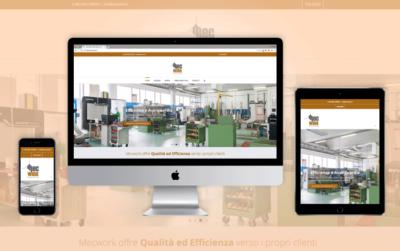 Sito Web responsive Mecwork