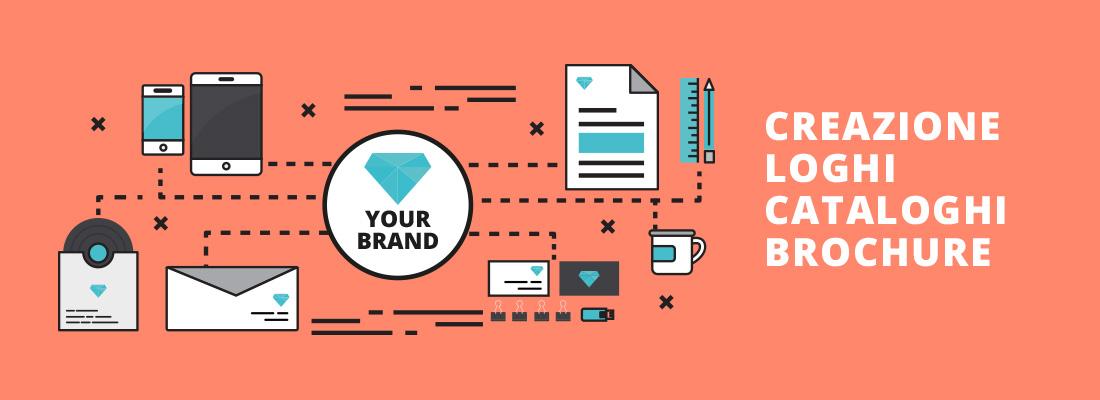 Brand Identity - Creazione Logo, cataloghi, borchure