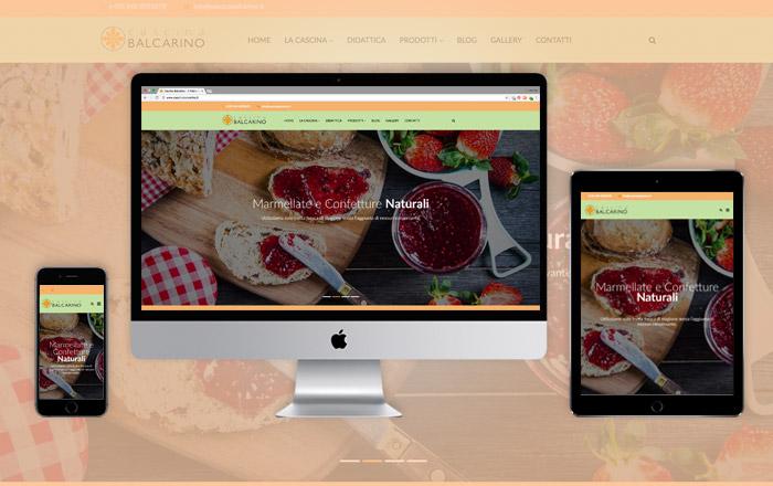 Sito Web responsive Cascina Balcarino
