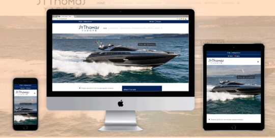 Sito Web responsive St. Thomas Yachts