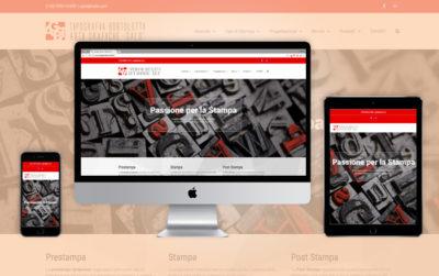 Sito Web responsive Tipografia Bortolotti